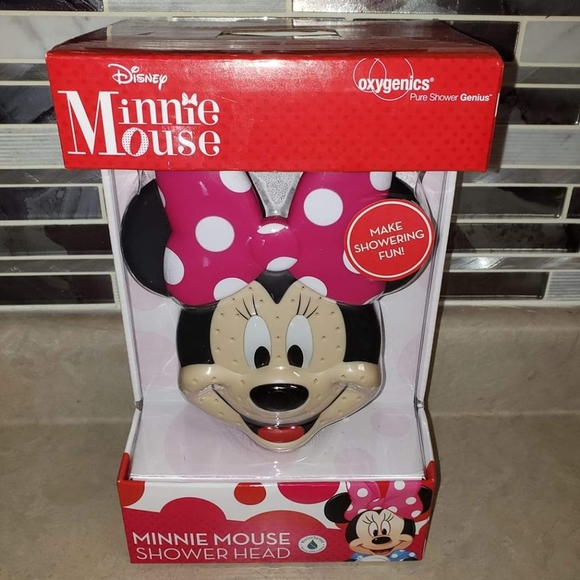Disney Other - Minnie Mouse Shower Head (Brand New)